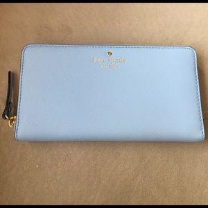 kate spade Handbags - Kate Spade Lacey Wallet in Skyblue