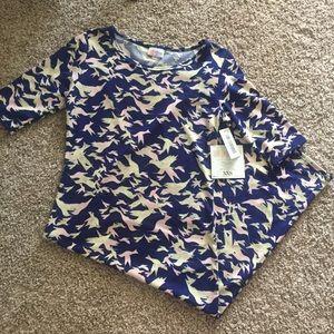 Bird printed Julia Bodycon Dress