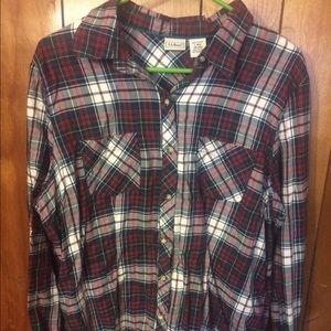L.L Bean Women's Button Up Shirt