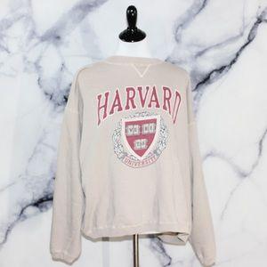 a724496d Galt Sand Tops | Vintage Harvard University Crewneck Pullover Xl ...