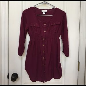 Tops - Maternity button down tunic