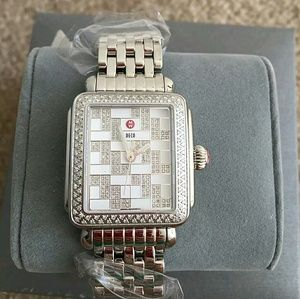 Michele Accessories - NWT Michele Deco diamond ladies watch