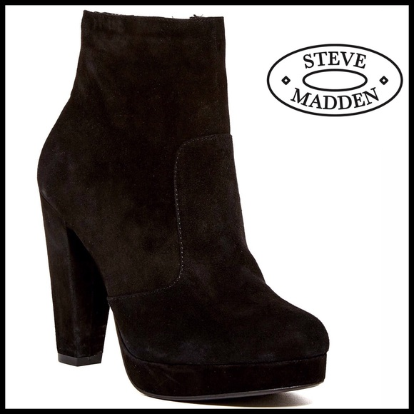 2fcb1d86310 ❗1-HOUR SALE❗STEVE MADDEN SUEDE BOOTS