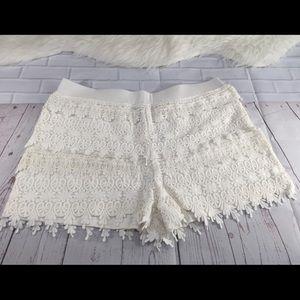 Brand New Express Lace Shorts Size M