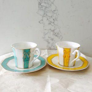Nina Ricci Accessories - Nina Ricci Bone China Tea Cups