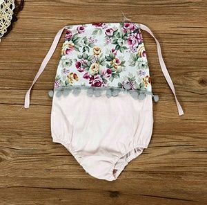 Other - Floral Baby Romper WITH HEADBAND!