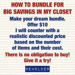 ✅ How to Bundle for Big Savings in my Closet 👍