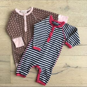 Coccoli Other - Coccoli Baby Girls' Knit Union Suit Bundle