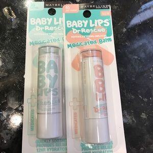Maybelline Other - Two brand new unused Maybelline Baby lips balm