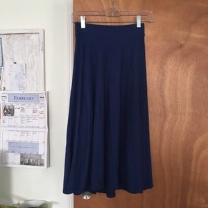 ASOS Dresses & Skirts - Blue Asos Midi Skirt