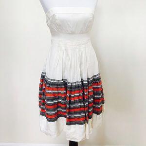 Floreat around the world linen dress