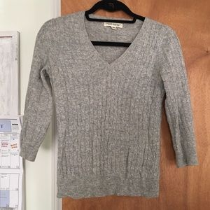 Banana Republic Sweaters - Gray cable knit sweater from Banana Republic