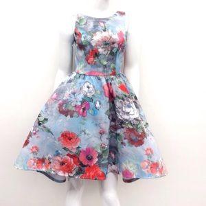 Auditions Dresses & Skirts - 🆕 FLORAL PRINT CRINOLINE HIGH/LOW DRESS