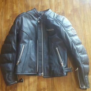 Insanely awesome icon leather motorcycle jacket