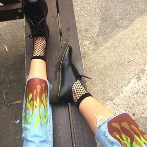UNIF Accessories - 🆕 Fishnet Ankle Sock