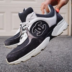 authentic CHANEL trainers / sneakers