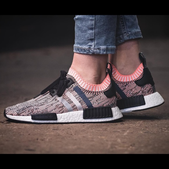 Adidas NMD 'Salmon' for the ladies! Via cornerstreet. # Nmd # rose