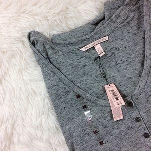 Victoria's Secret Tops - VICTORIA'S SECRET grey marble long sleeve top