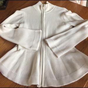 Boston Proper Sweaters - Ivory cardigan