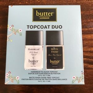 Butter London Other - BL Top Coat Duo