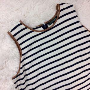 Lauren Ralph Lauren Dresses & Skirts - RALPH LAUREN striped plus size knee length dress