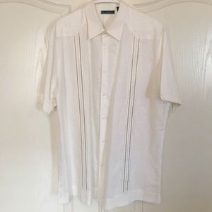 Cubavera Other - CUBAVERA LINEN DRESS SHIRT