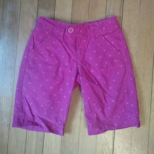 Old Navy Other - Cute pink polka dot shorts