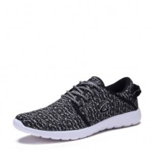shoeroom21 boutique Other - Men's lace up light weight running shoes. Blk-whit