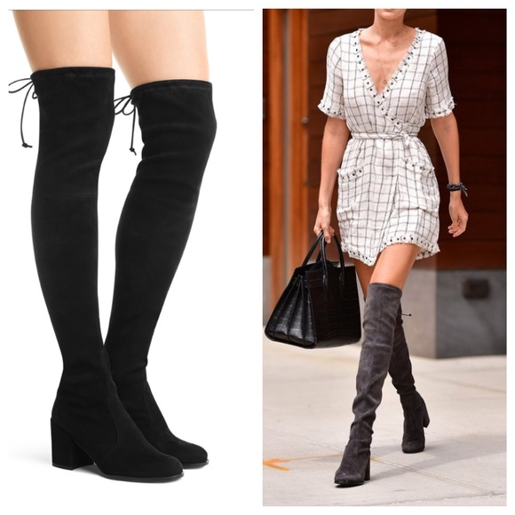 977bc18b27e Stuart weitzman tieland over the knee boots. M 58a617fc2599fee739016c36