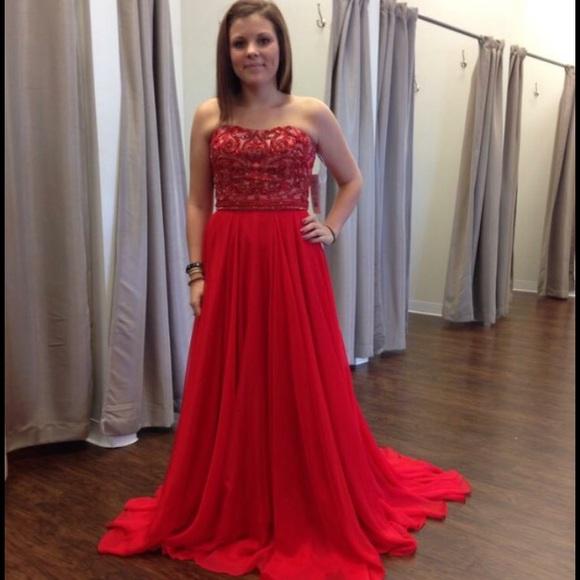 2015 Sherri Hill prom dress - 8