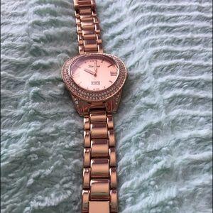 Jewelmint Jewelry - JewelMint Rose Gold Geneva Watch