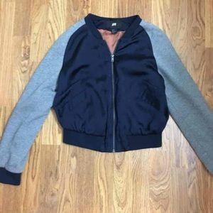 H&M size 8 bomber jacket