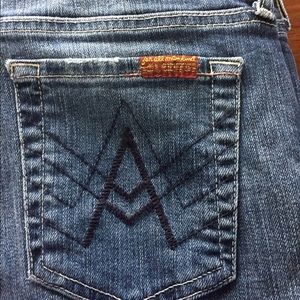 7 For All Mankind Denim - 7FAM A Pocket Jeans