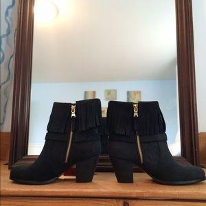 Lauren Ralph Lauren Shoes - NWT Ralph Lauren Fringe Ankle Boots