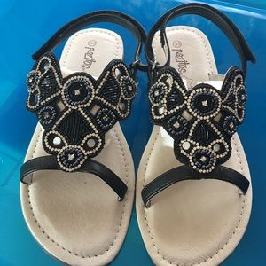 Pazitos Other - Pazitos Papillon Black sandal