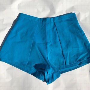 Lulus blue shorts size large