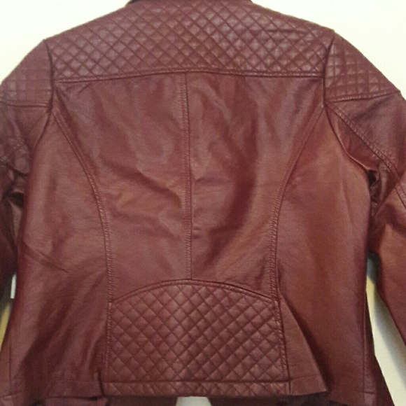 Charlotte Russe Jackets & Coats - Faux Leather Jacket