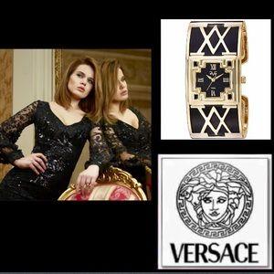 Versace Accessories - 🆕Versace🇮🇹19V69🇮🇹Signature 'V' Bangle Watch