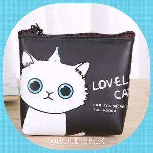 Handbags - Blue Eyed Kitty Bag