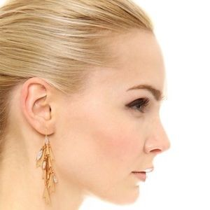 NWT Elizabeth Cole Gold Earrings - SOLD OUT!