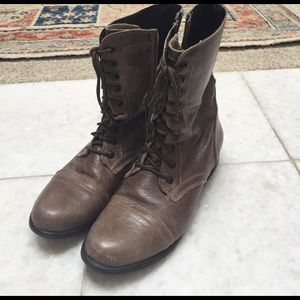 Steve Madden Combat Lace Up Boots