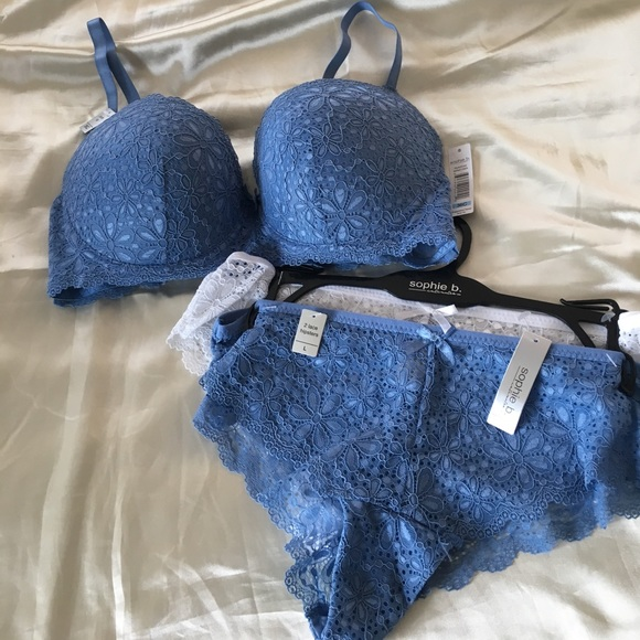 3c55f40f48eb sophie b Intimates & Sleepwear | Nwt Push Up Bra And 2 Pack Hipster ...