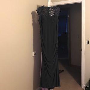 Caché Charcoal Grey Dress