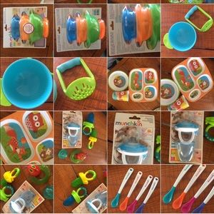 Munchkin Other - Huge Lot of Baby Teething & Eating Items