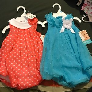 Infant romper shorts