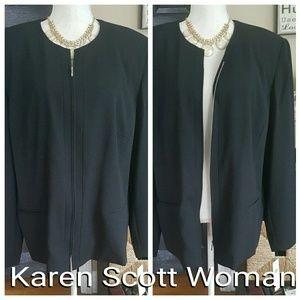 Karen Scott Jackets & Blazers - 🆕Karen Scott Woman Blazer Jacket sz 22W