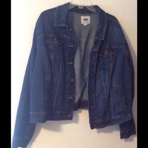Old Navy Jackets & Blazers - Denim Dark Wash Jacket
