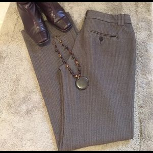 Express Pants - Brown tweed Express Editor pants 4R