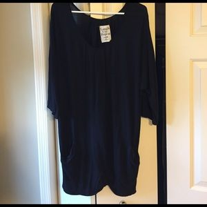 Laugh Cry Repeat Tops - Black Tunic