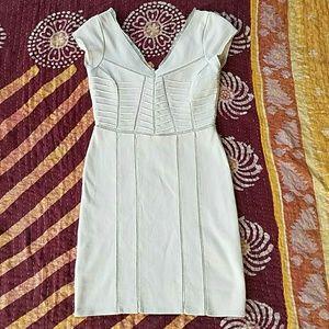 Free People Ivory BodyCon Stretch Mini Dress XS